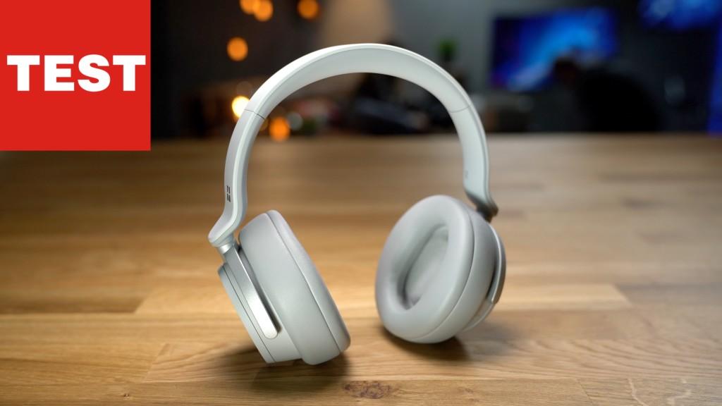 surface headphones microsofts erster kopfh rer im test. Black Bedroom Furniture Sets. Home Design Ideas