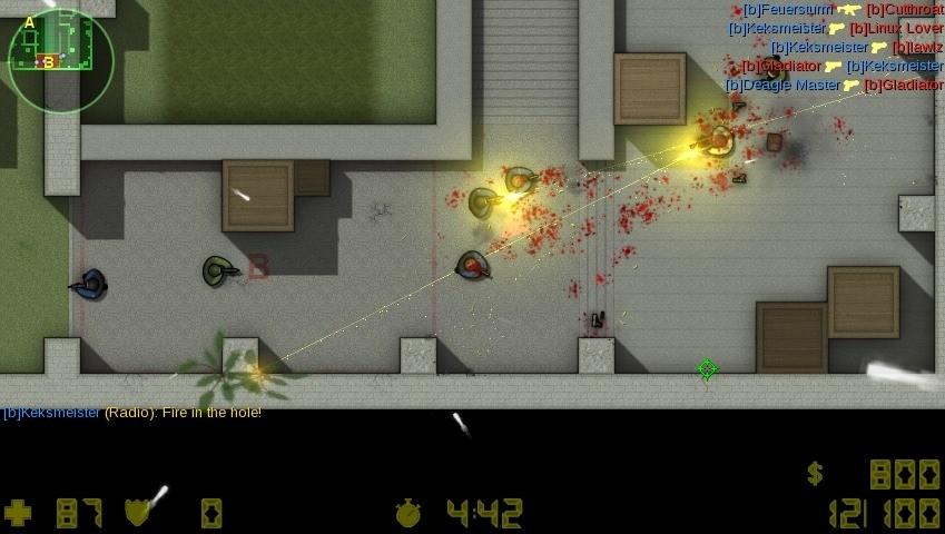 Screenshot 1 - Counter-Strike 2D