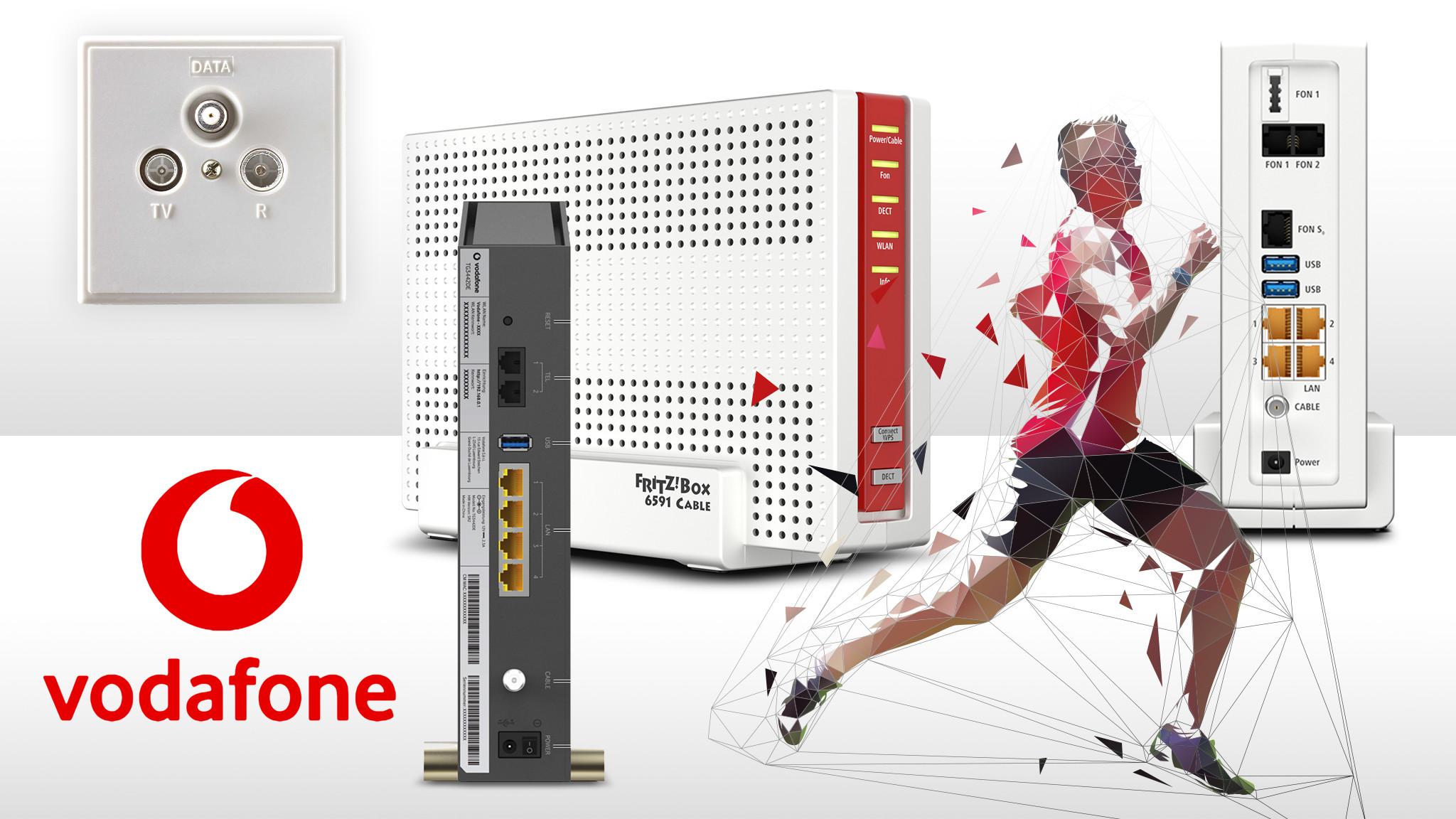 Vodafone Gigabit per Kabel im Test   COMPUTER BILD