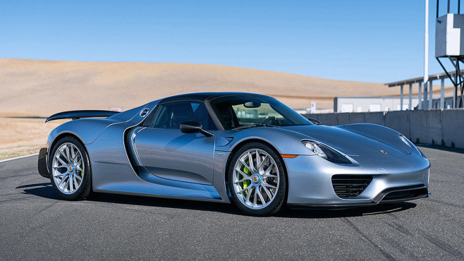 2015er 918 Spyder © Mike Maez Courtesy of Gooding & Company