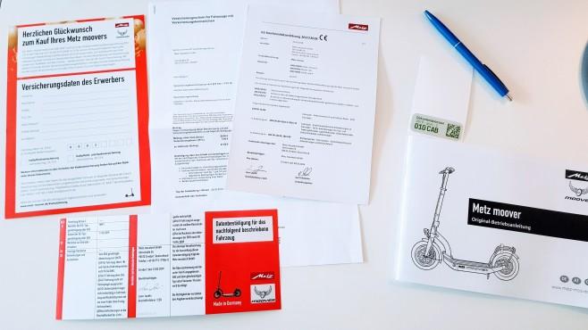 Metz Moover Papiere©COMPUTER BILD/Michael Huch