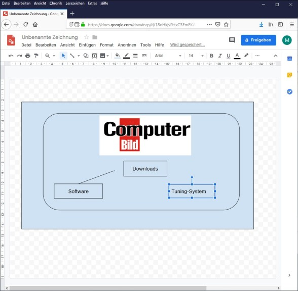 Screenshot 1 - Google Drawings