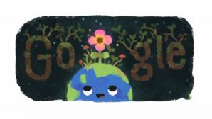 Google Doodle: Frühlingsanfang©Google