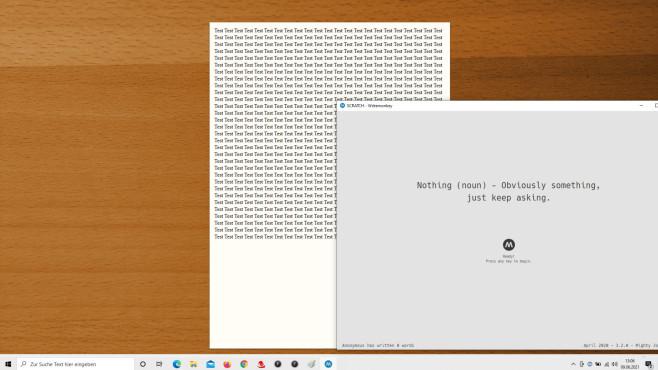 Ablenkungsfrei schreiben und am PC arbeiten: Tipps und Tools für Windows Der  WriteMonkey fokussiert sich auf das Schreiben von Textdateien.©COMPUTER BILD