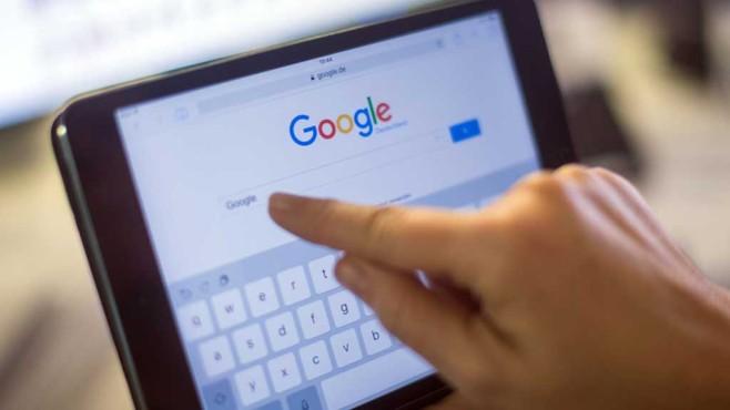 Google Suchmaschine auf einem Tablet©dpa-Bildfunk