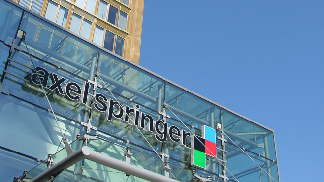 Haupteingang der Axel Springer SE in Berlin © Axel Springer SE