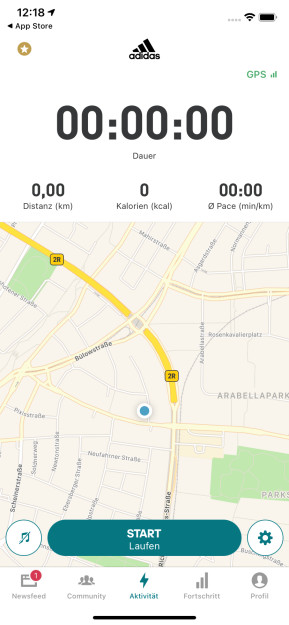Adidas Running by Runtastic (App für iPhone & iPad)