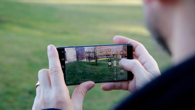 Samsung Galaxy S10 Plus: Weitwinkelkamera©COMPUTER BILD