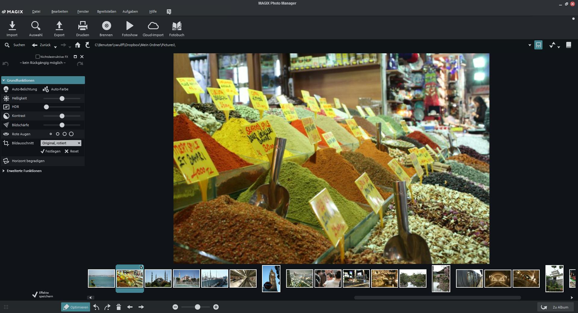 Screenshot 1 - Magix Photo Manager