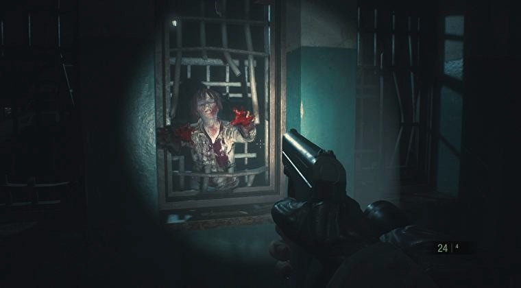 Screenshot 1 - Resident Evil 2 Mod: First-person view (Ego-Perspektive)