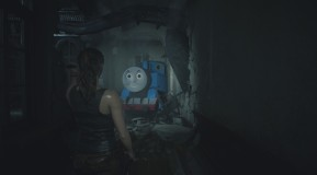 Resident Evil 2 Mod: Thomas, die Lokomotive (Skin für Mr. X)