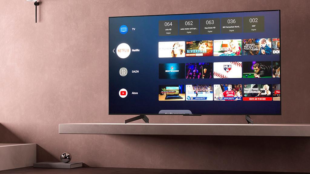 Sony XG85 im Test: Der Android-Fernseher ist scharf und schnell! Sony KD-55XG8505 im Test: Mehr Ausstattung und besseres Bild ist zu diesem Preis kaum zu haben.©Sony, COMPUTER BILD