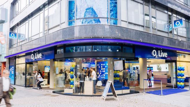 O2-Shop in Köln©O2 – Telefónica Deutschland