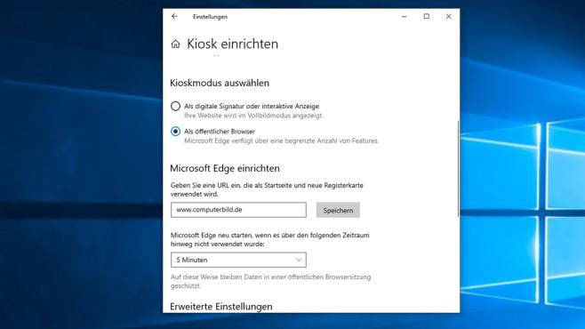 Windows-Kioskmodus: Geführter Zugriff sperrt alle Programme bis auf eines©COMPUTER BILD