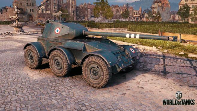 World of Tanks Gutschein: Sichern Sie sich Panzer und Spielvorteile im Wert von 25 Euro! Die neuen Radfahrzeuge sind wesentlich schneller.©Wargaming