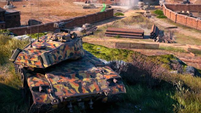 World of Tanks Gutschein: Sichern Sie sich Panzer und Spielvorteile im Wert von 25 Euro! Die ganz großen Gefechte warten in Frontlinie auf die Panzerfahrer.©Wargaming