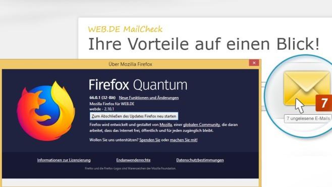 c69504656c91 Firefox Web.de-Edition: Browser im Test - COMPUTER BILD
