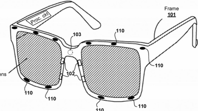 PSVR Patent: Brille©Sony / pdfaiw.uspto.gov