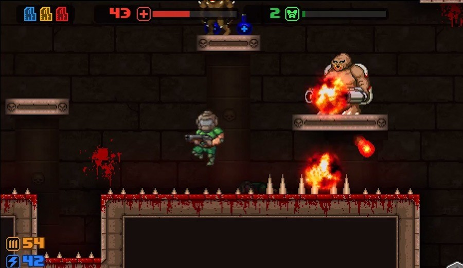 Screenshot 1 - MiniDoom 2