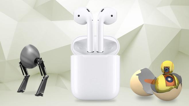Apple AirPods©Eugene Sergeev-Fotolia.com, iStock.com/vuadeep, iStock.com/TheAYS, iStock.com/Devrimb, Apple