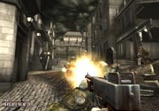 Medal of Honor – Heroes 2 Auch wenn die Waffenauswahl im Spiel groß ist. Die Thompson-Maschinenpistole ist oft das beste Mittel zur Befriedung des Spielabschnitts.