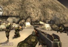 Medal of Honor – Heroes 2 Häufig bekommt der Held Unterstützung von computergesteuerten Kollegen.