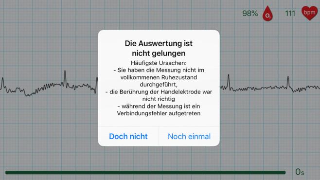 Wiwe App Fehler©COMPUTER BILD / Screenshot WIWE App