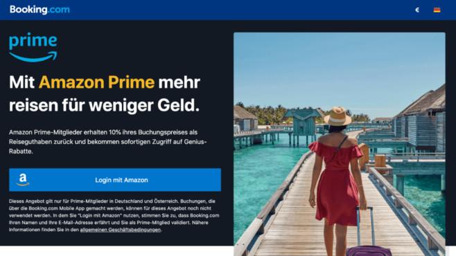 Kooperation zwischen Amazon und Booking.com©Amazon, Booking.com