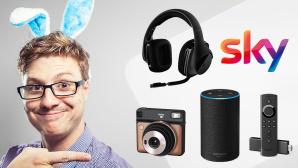 Ostergeschenke für Männer©iStock.com/benstevens, Amazon, Sky, Logitech, Fujifilm