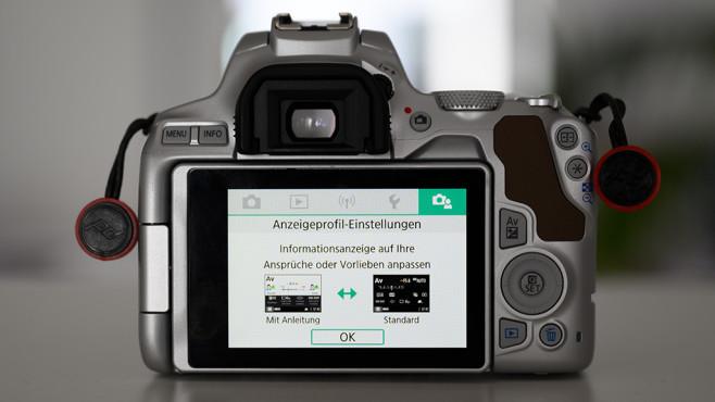 Canon EOS 250D – einsteigerfreundliches Menü©COMPUTER BILD