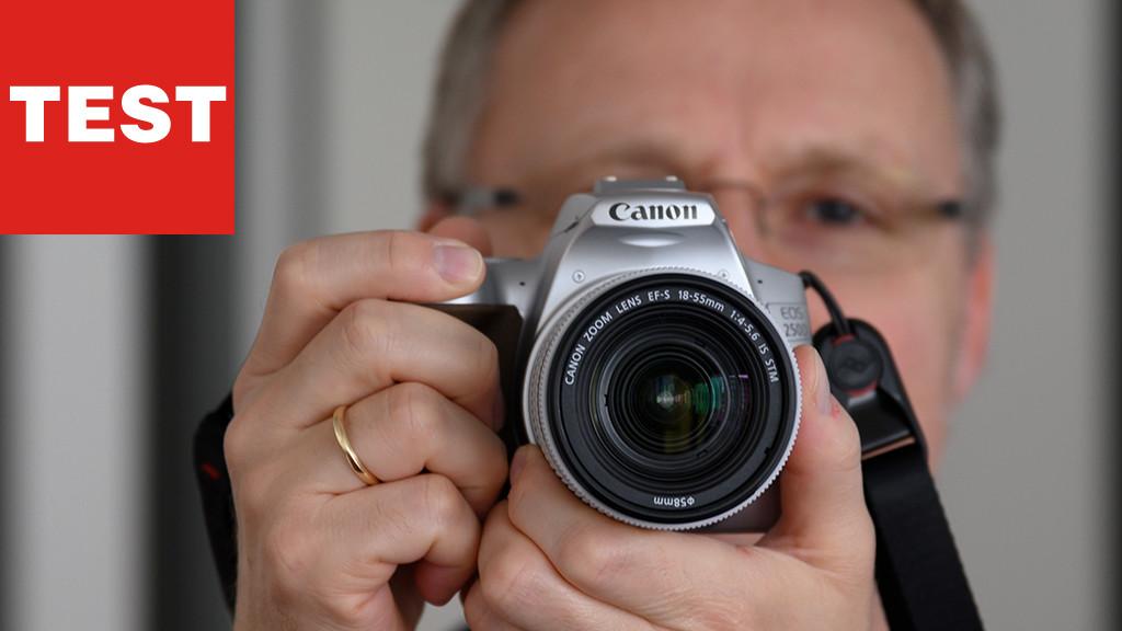 Canon EOS 250D im Test©COMPUTER BILD