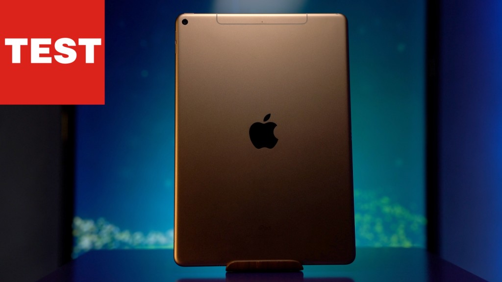 apple renoviert das neue ipad air 2019 im test. Black Bedroom Furniture Sets. Home Design Ideas