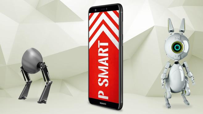 P smart Dual-SIM-Smartphone von Huawei©Eugene Sergeev-Fotolia.com, iStock.com/vuadeep, iStock.com/TheAYS, iStock.com/Devrimb, Huawei