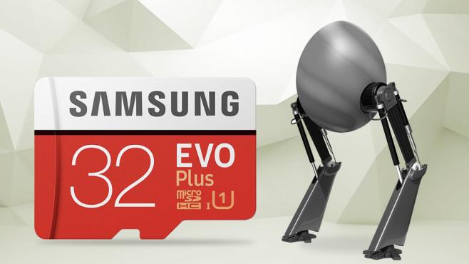 Samsung Evo Plus Micro SDHC 32 GB©Eugene Sergeev-Fotolia.com, iStock.com/vuadeep, iStock.com/TheAYS, iStock.com/Devrimb