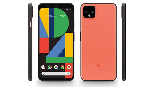 Google Pixel 4 Orange © Google / 9to5google
