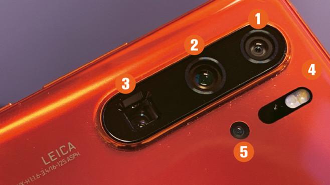 Im Lestertest: Huawei P30 Pro©COMPUTER BILD