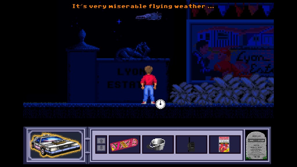 Screenshot 1 - Back to the Future III: Timeline of Monkey Island