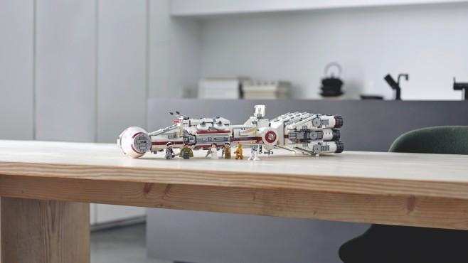 """Star Wars: Neues LEGO-Set Den """"Tantive IV"""" gibt es ab dem 4. Mai exklusiv im LEGO-Store.©LEGO, Star Wars"""