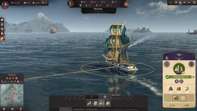 Anno 1800: Neue Inseln entdecken©Ubisoft