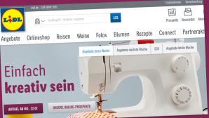 Gratis-Versand bei Lidl©Screenshot www.lidl.de