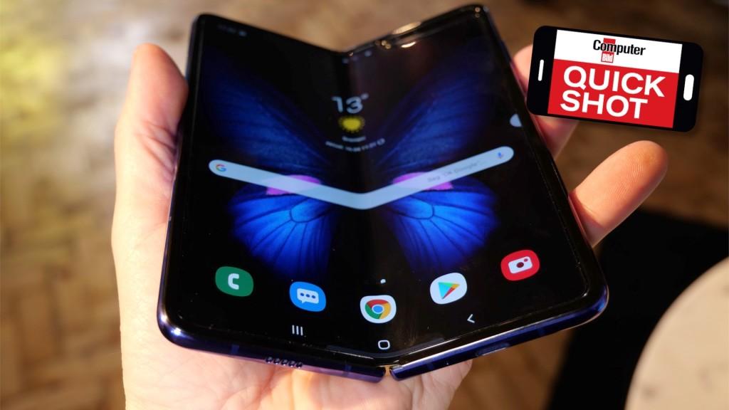 Samsung Galaxy Fold: Falt-Handy im Video-Hands-on