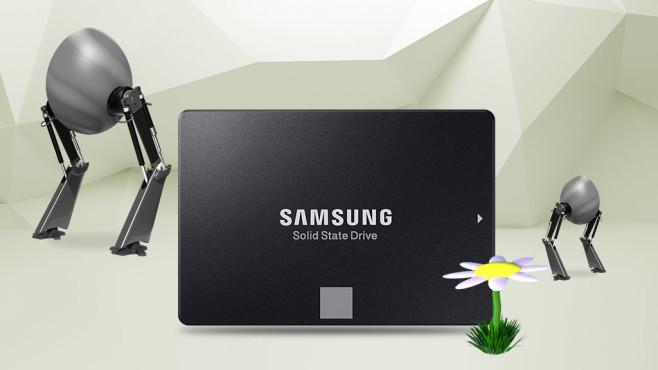 Samsung SSD 860 Evo 500 GB©Samsung, Eugene Sergeev-Fotolia.com, iStock.com/vuadeep, iStock.com/TheAYS, iStock.com/Devrimb