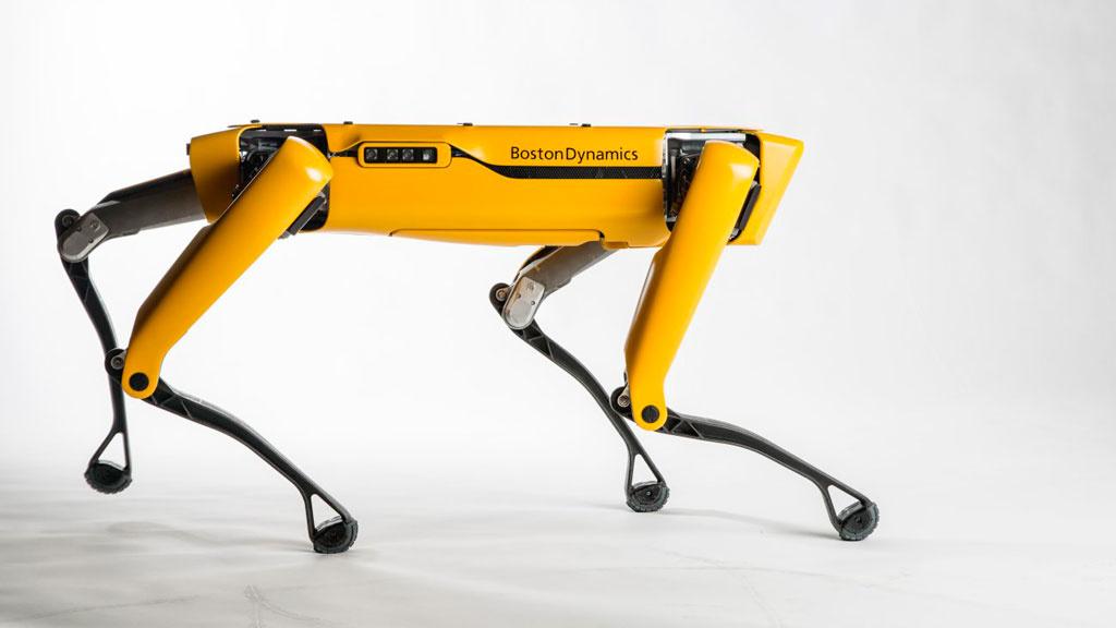 Boston Dynamics SpotMini: Diese Roboter ziehen einen Truck