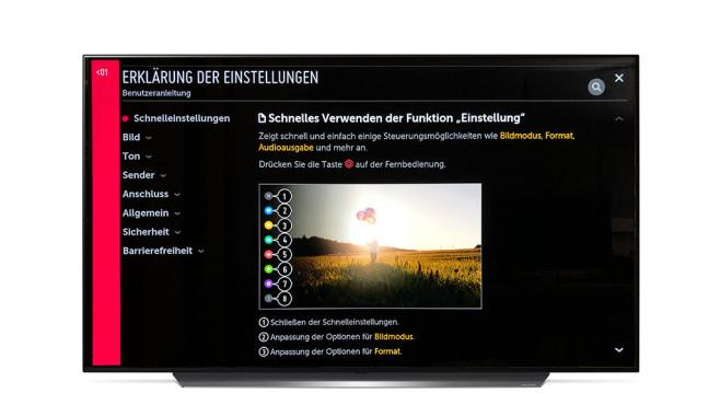 Neuer LG OLED C9 im Test©LG, COMPUTER BILD