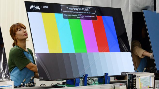 Neuer LG OLED C9 im Test: Das ist der beste Fernseher fürs Geld! LG stellt Farben und Graustufen von seinen OLED-Fernsehern ab Werk sehr gut ein.©LG Electronics