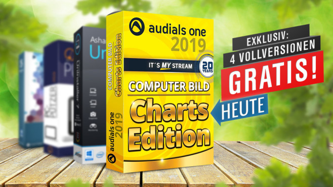 Audials One 2019 gratis Vollversion © Audials One 2019, iStock.com/Piotr Krzeslak