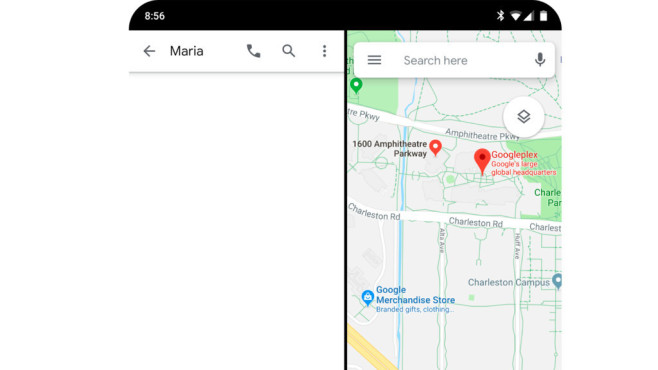 Google I/O 2019 Vorschau: Android Q, Google Stadia, Pixel 3a & Co. – was zeigt Google? Google knickt seine Software nun auch: Dank Android 10 Q programmieren Entwickler spezielle Oberflächen für faltbare Smartphones.©COMPUTER BILD