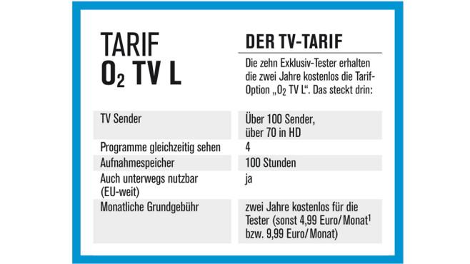 O2 TV exklusiv testen©COMPUTER BILD