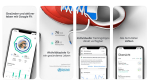 Google Fit auf iOS © Apple / Google
