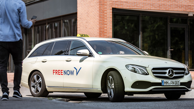 MyTaxi wird zu Free Now © Free Now (MyTaxi)